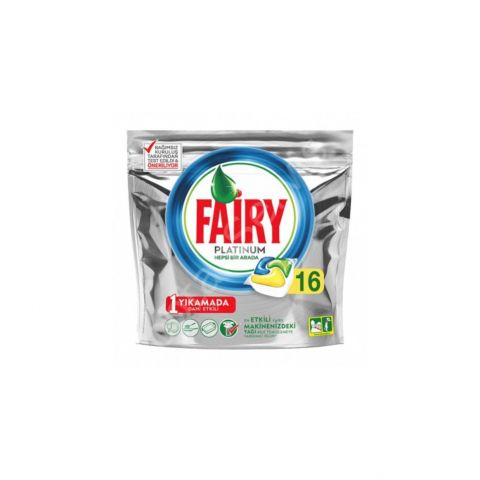 #700008 Fairy Platinum Tablet 16'lı